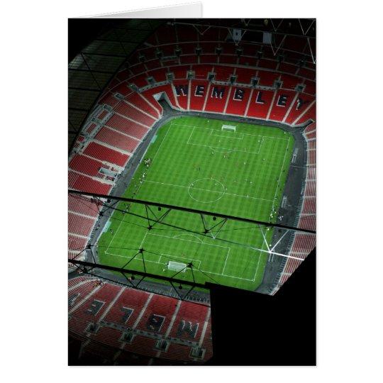 Wembley Stadium Card