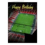Wembley Stadium del feliz cumpleaños Felicitacion