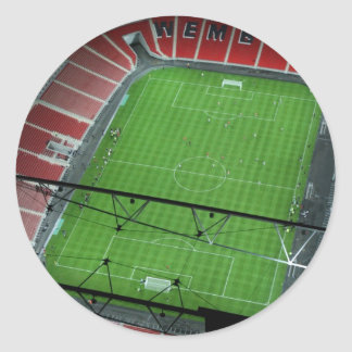 Wembley Stadium Pegatina Redonda