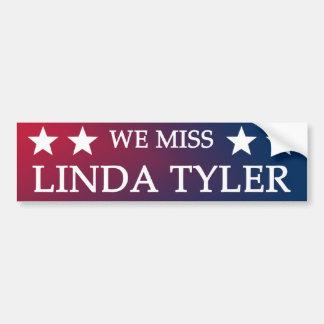 WeMissLindaTyler.png Bumper Sticker