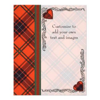 Wemyss clan Plaid Scottish tartan Flyer