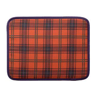 Wemyss clan Plaid Scottish tartan MacBook Air Sleeve
