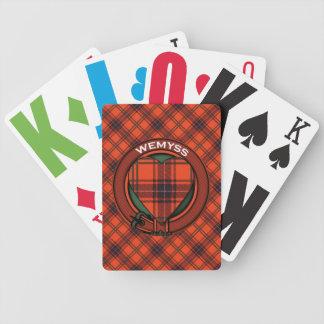 Wemyss Scottish tartan pattern Bicycle Playing Cards