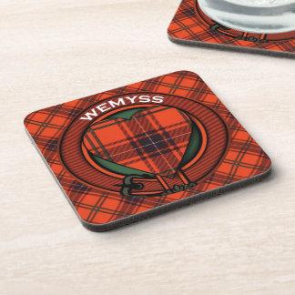 Wemyss Scottish tartan pattern Coaster