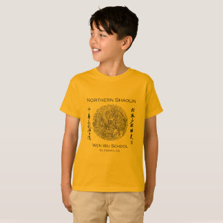 Wen Wu School Shaolin T-Shirt for Kids