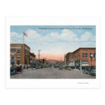 Wenatchee Ave View from Orondo Ave Post Cards