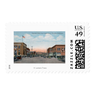 Wenatchee Ave View from Orondo Ave Postage