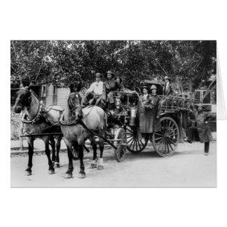 Wenatchee Fire Dept, 1911 Card