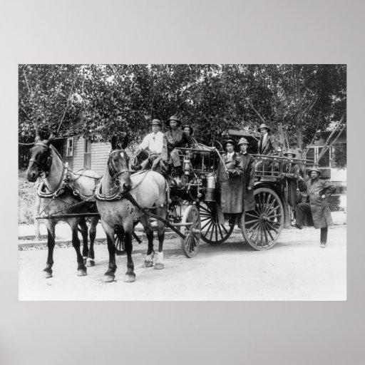 Wenatchee Fire Dept: 1911 Poster