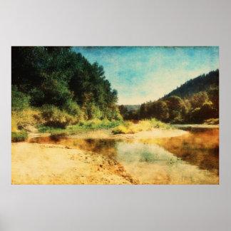 Wenatchee River 2 Poster