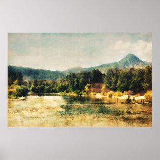 Wenatchee River Poster