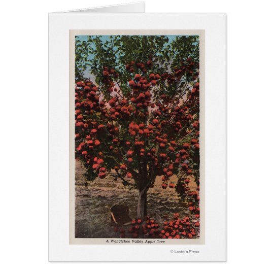 Wenatchee, WAA Wenatchee Valley Apple Tree Card