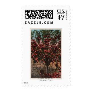 Wenatchee, WAA Wenatchee Valley Apple Tree Postage