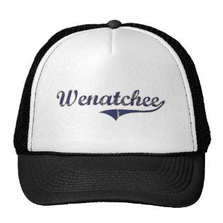 Wenatchee Washington Classic Design Trucker Hat