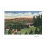 Wenatchee, WashingtonView de Ohme cultiva un huert Postales