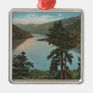 Wenatchee WAView del lago Chelan Ornamentos De Navidad