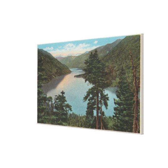 Wenatchee, WAView of Lake Chelan Canvas Print