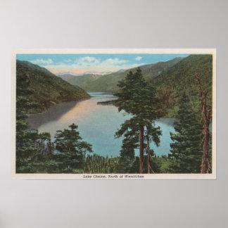 Wenatchee WAView of Lake Chelan Poster