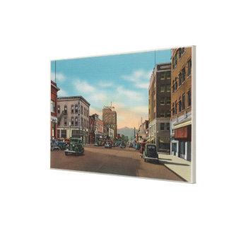 Wenatchee, WAView of Wenatchee Ave. Canvas Print