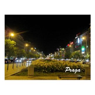 Wenceslas Square, Praga  Postcard