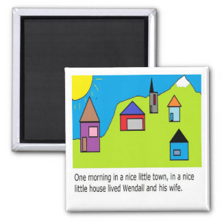 Wendall  page 1 2 inch square magnet
