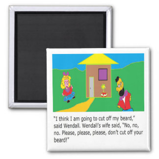 Wendall page 2 2 inch square magnet