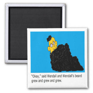 Wendall page 3 2 inch square magnet