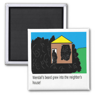 Wendall page 4 fridge magnet