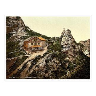 Wendel stone house, Upper Bavaria, Germany rare Ph Postcard