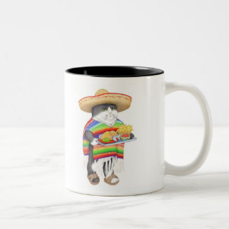 Wendelito Black Two Tone Mug