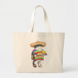 Wendelito Kitty Large Tote Bag