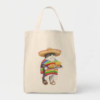 Wendelito Natural Grocery Tote Canvas Bags