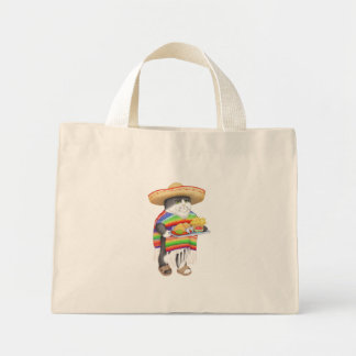 Wendelito Natural Tiny Tote Bags