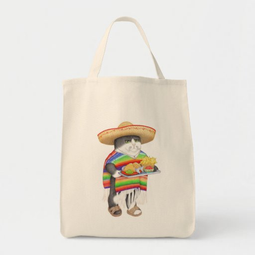 Wendelito Organic Grocery Tote Canvas Bag