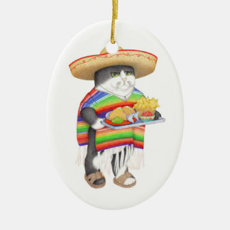 Wendelito Oval Ceramic Ornament (2 sided)