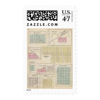 Wendell Bavaria, Gypsum City, Kansas Postage