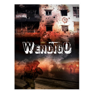 Wendigo Postcard