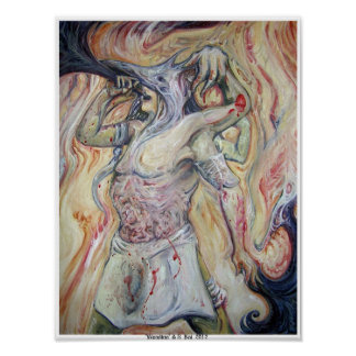Wendigo poster A.S. Koi