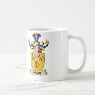 Wendt Family Crest Coffee Mug