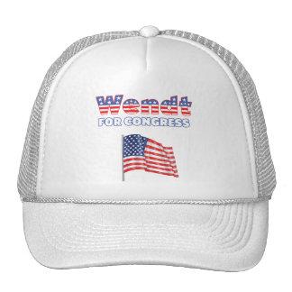 Wendt para la bandera americana patriótica del con gorros