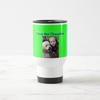 Wendy and Alfie! 15 Oz Stainless Steel Travel Mug