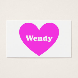 Wendy Business Card
