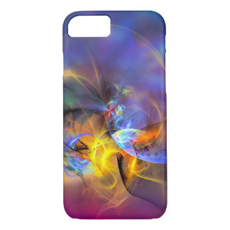 Wendy - colorful digital abstract art iPhone 7 case