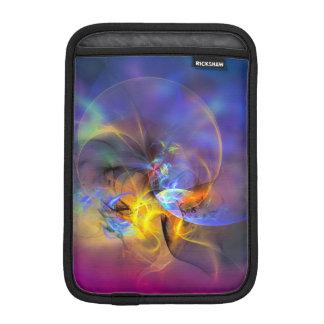 Wendy - colorful digital abstract art sleeve for iPad mini