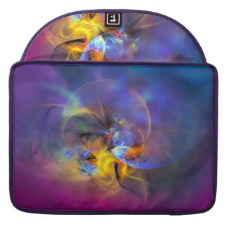 Wendy - colorful digital abstract art sleeves for MacBooks