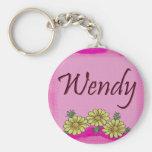 Wendy Daisy Keychain