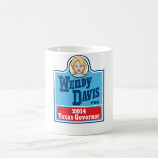 Wendy Davis for Texas Governor 2014 Coffee Mug