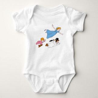 Wendy de Peter Pan, Juan y vuelo querido de Body Para Bebé