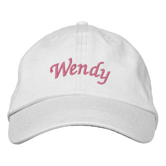 Wendy Embroidered Baseball Cap