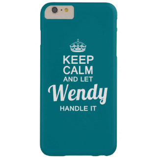 Wendy Handle it! Barely There iPhone 6 Plus Case
